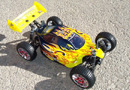 [TOP Li-Po] BUGGY 1:8 Planet Brushless LIPO EDITION FUEGO